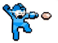 Mega Man Shooting Small